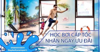 Học bơi tại KĐT Dương Nội Hà Đông Bể Bơi Trong Nhà Trường THPT Quốc Tế Việt Nam